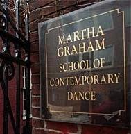 Martha Graham building and the memorabilia